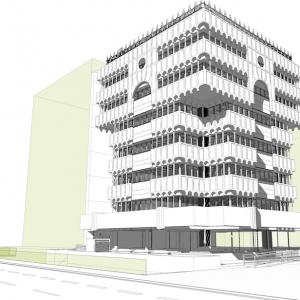 Proyecto de arquitectura Serrano 69