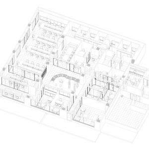 Proyecto de arquitectura: Oficina Cuarzo - Calle Villanueva